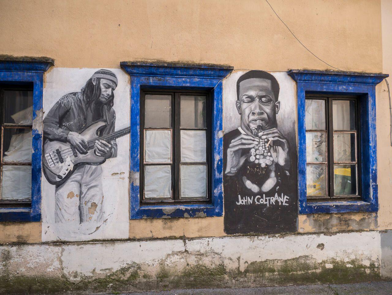 Street art w Kranj