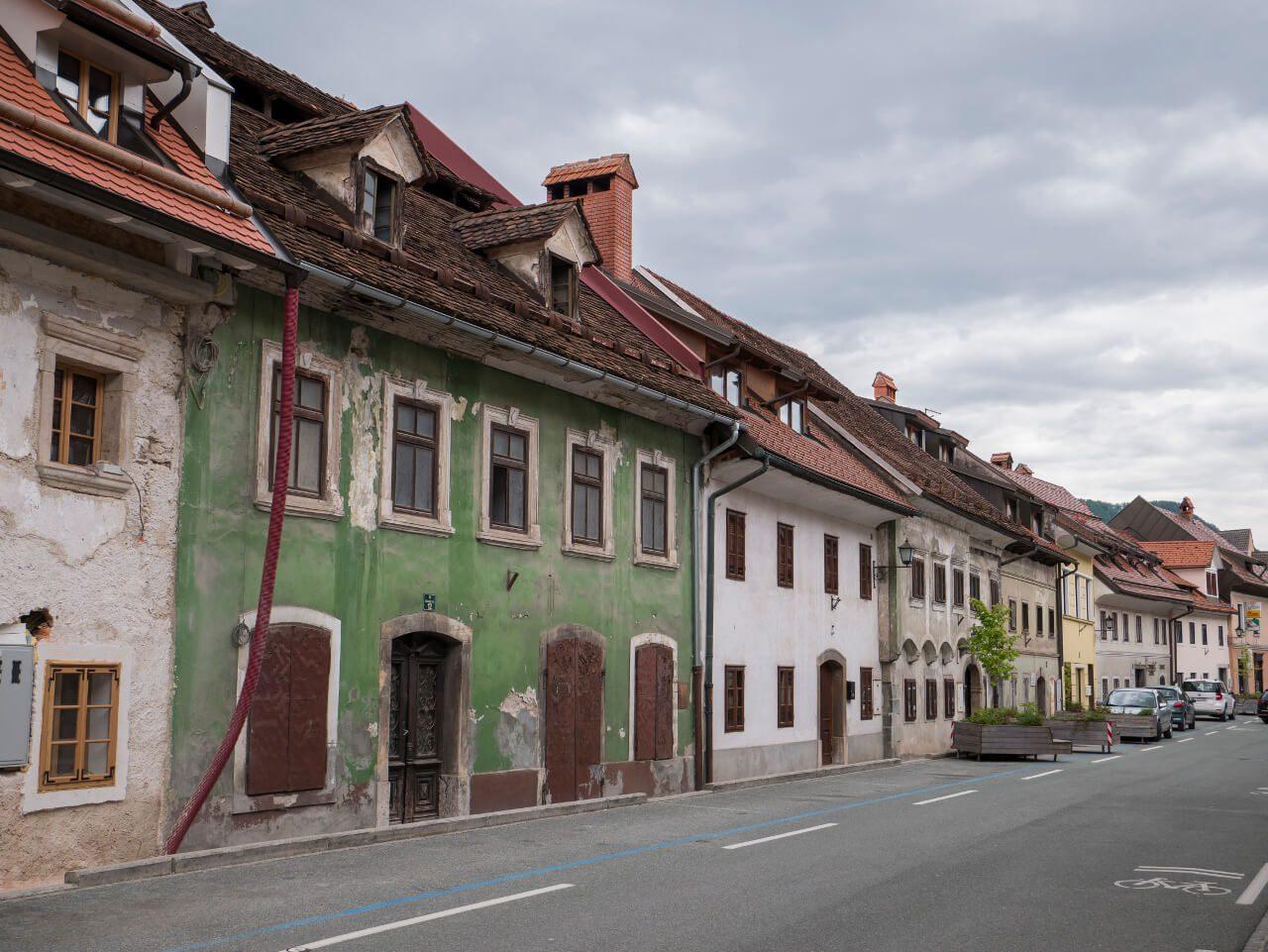 Uliczki miasta Skofja Loka