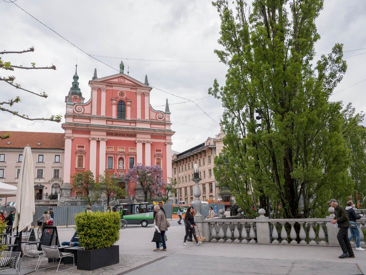 Potrójny Most w Lublanie (Słowenia)