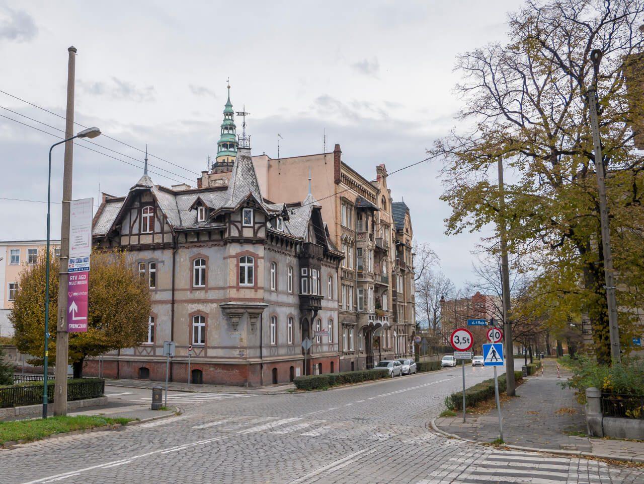 Kamienica przy ul. 8 Maja w Świdnicy