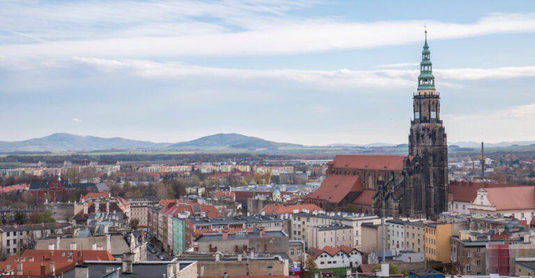 Świdnica widok na miasto