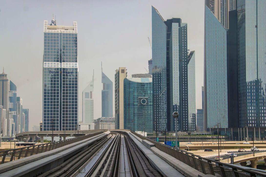 Tory metra w Dubaju