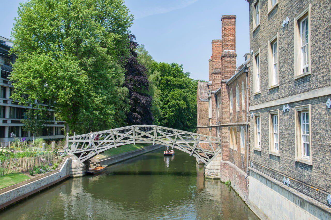 Most Matematyczny w Cambridge