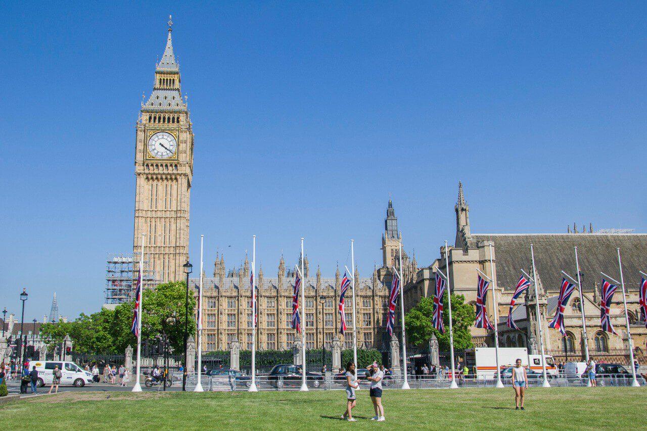 Wieża Big Ben i Parlament w Londynie