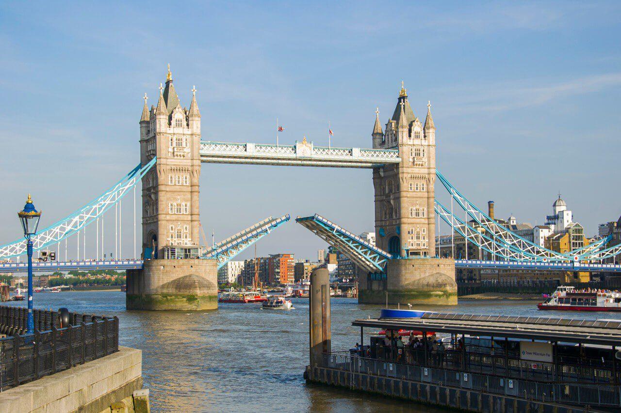 Most Tower Bridge w Londynie