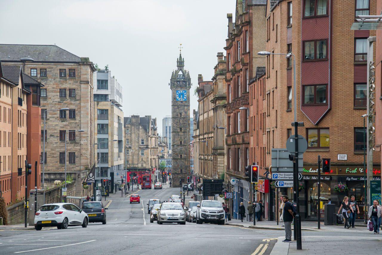 Ulice Glasgow