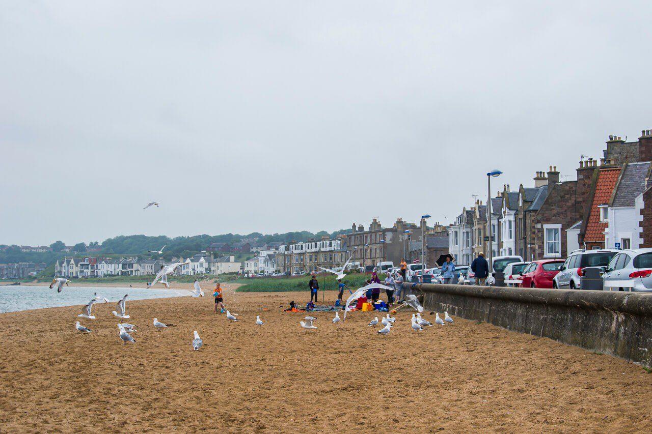 Plaża w North Berwick