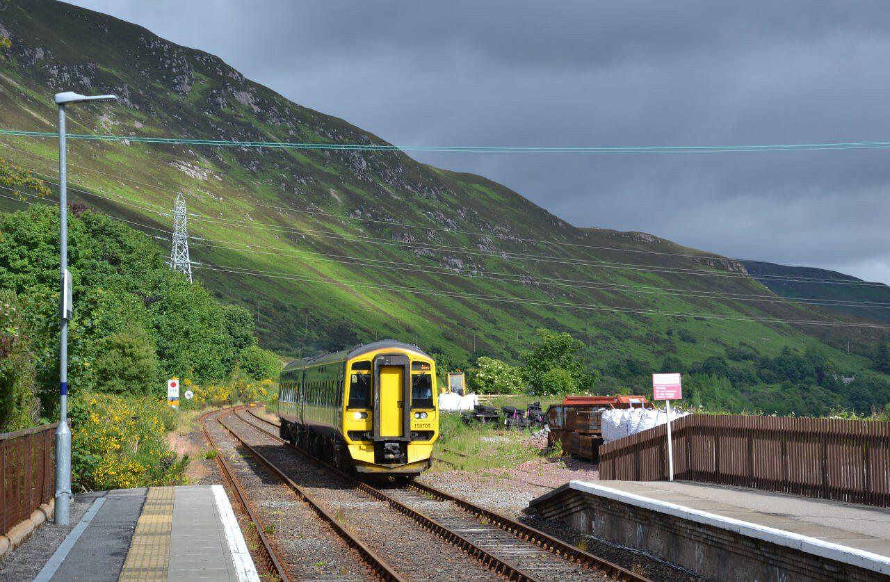Pociąg z Inverness do Thurso