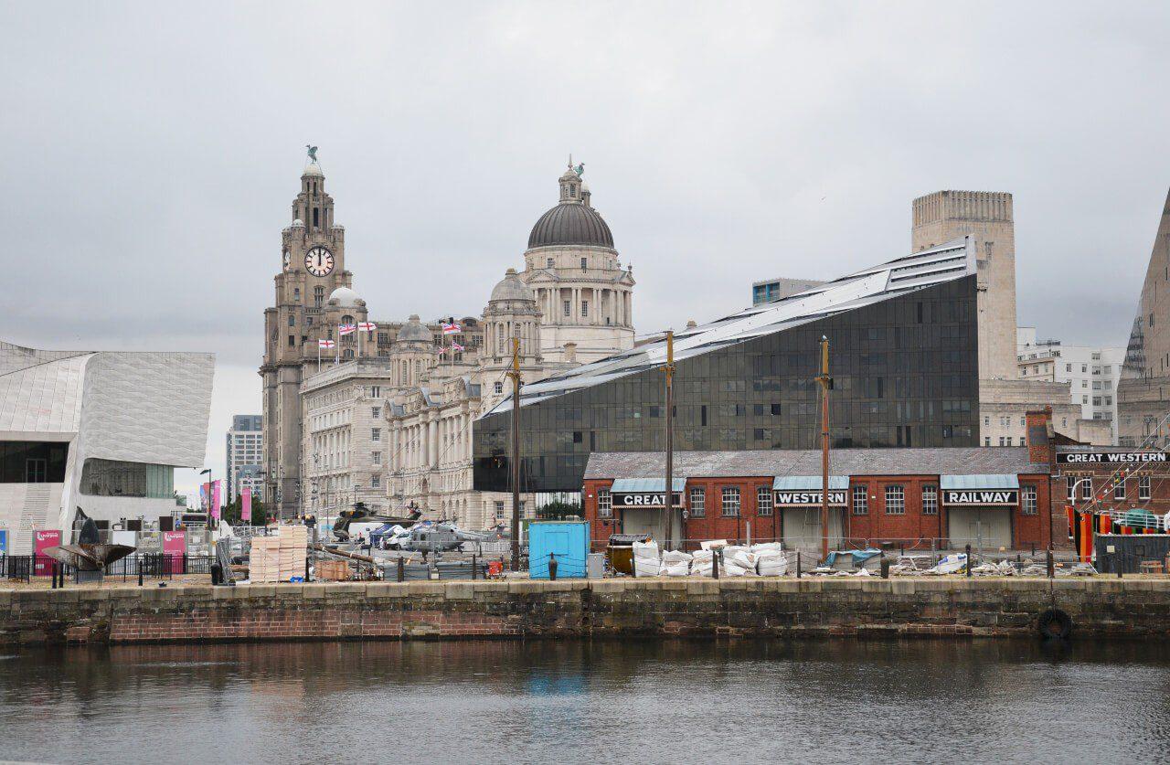 Zabudowania w Liverpool