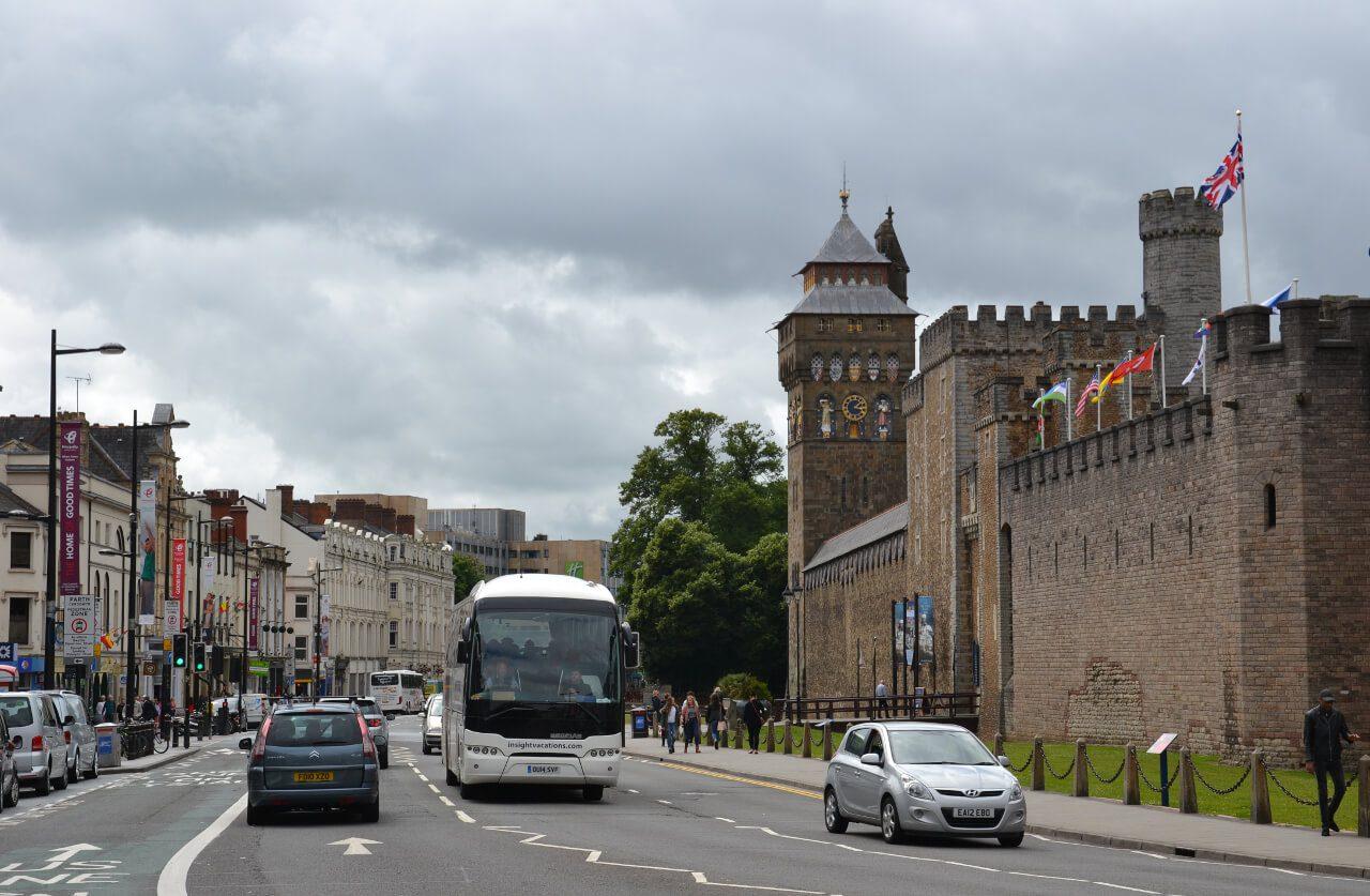Zamek w Cardiff