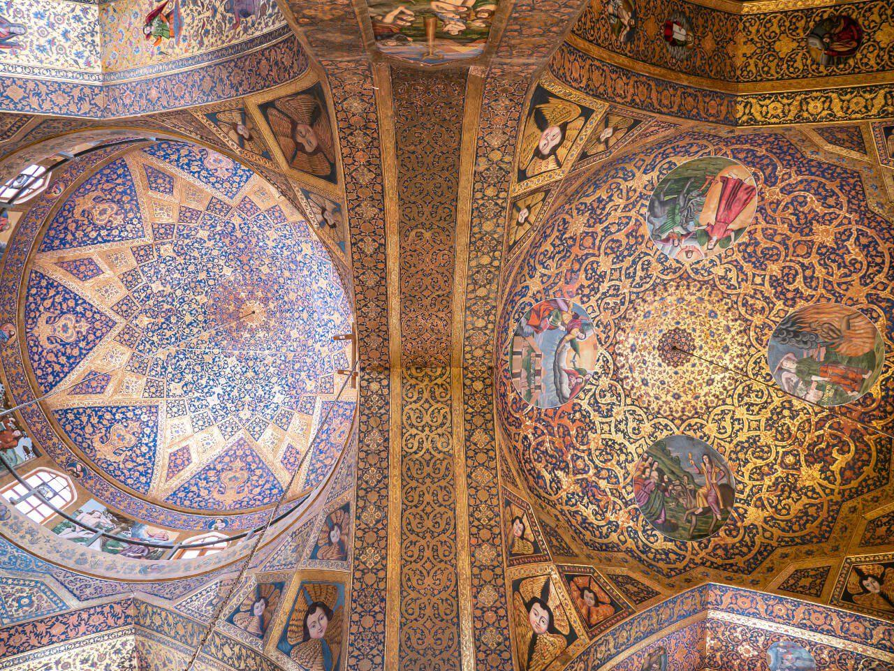 Freski i malowidła w katedrze Vank w Isfahanie