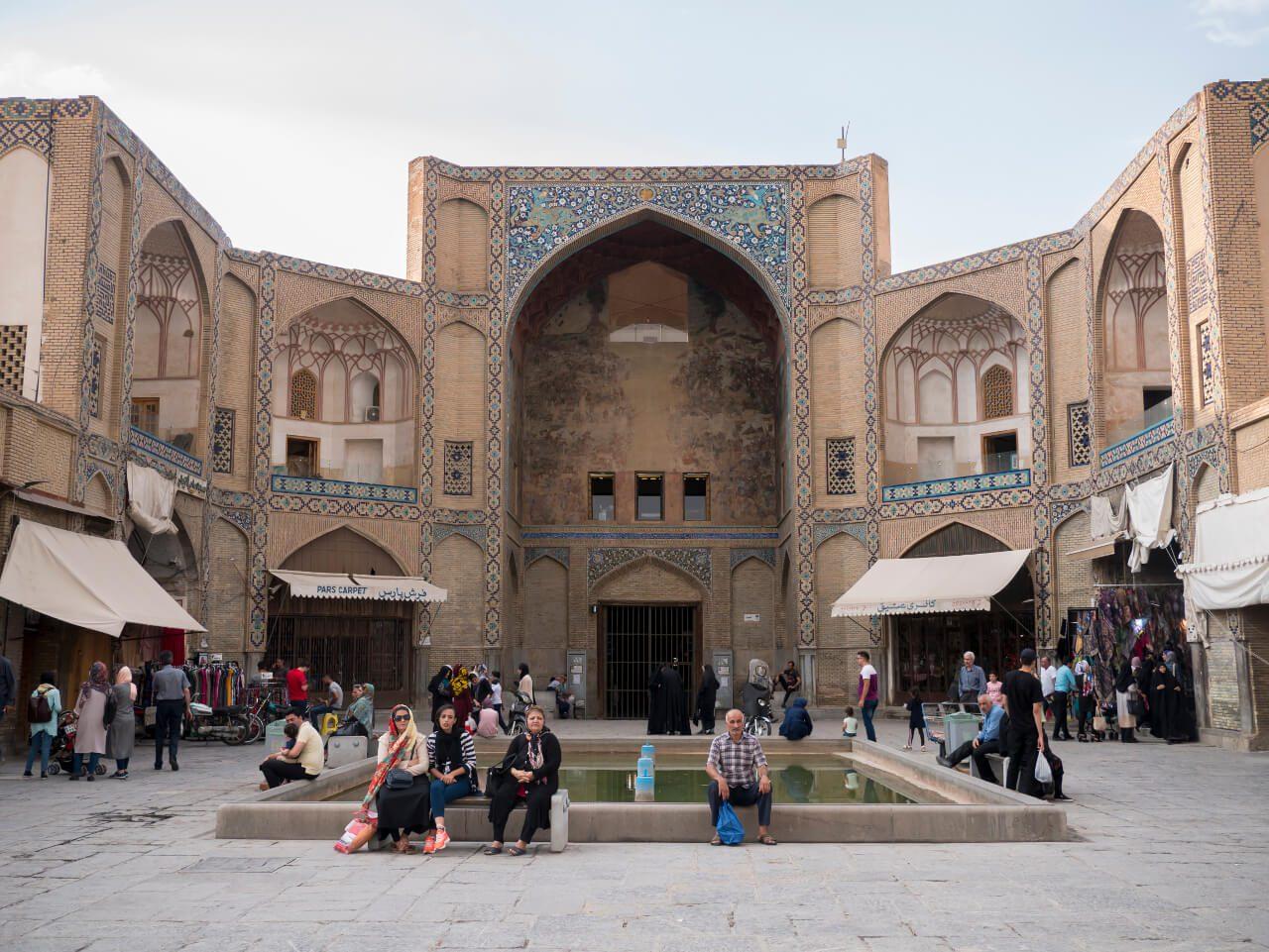 Brama Qeysarie na placu Naqsh-e Jahan