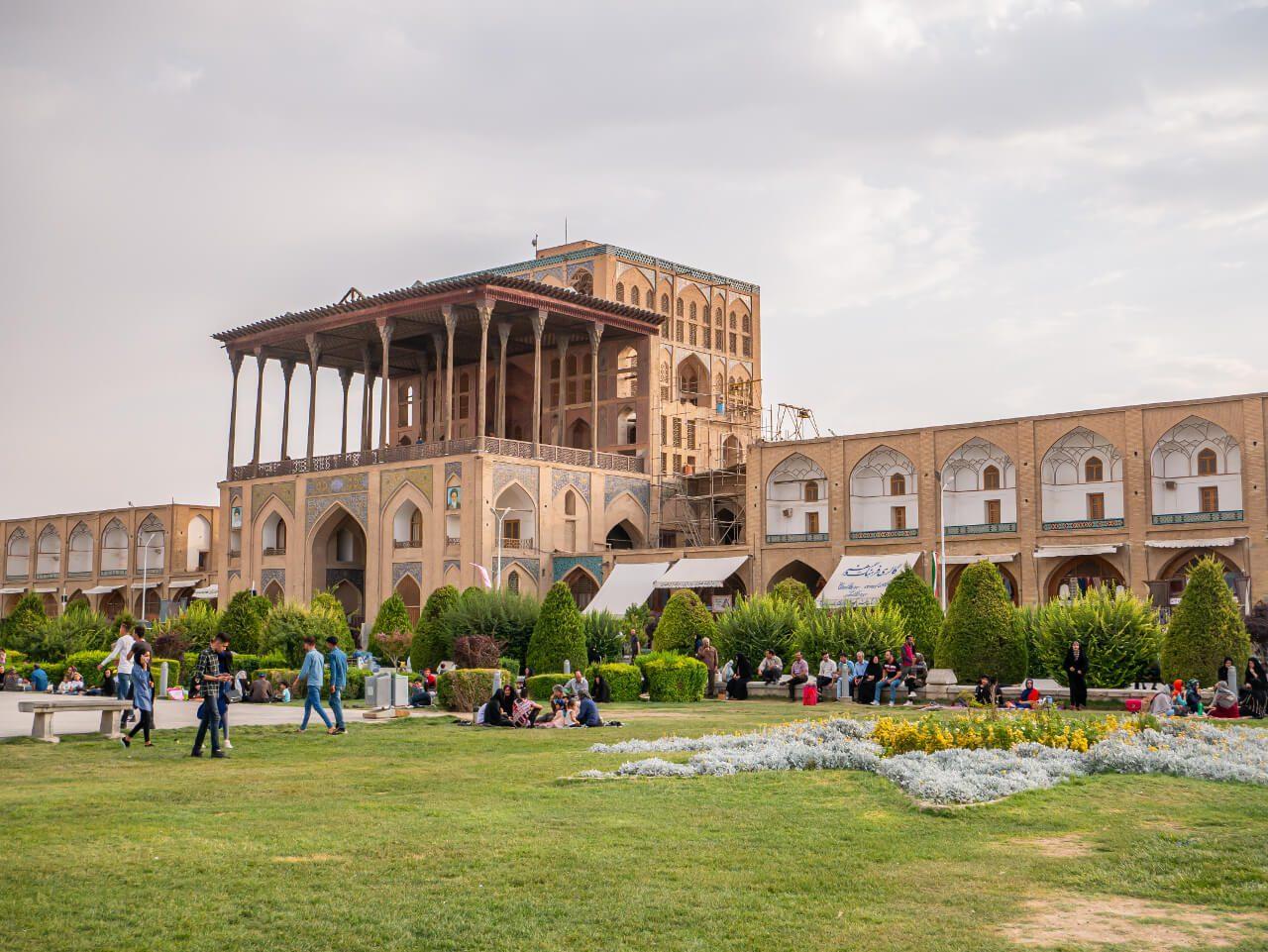 Pałac Ali Qapu w Isfahanie