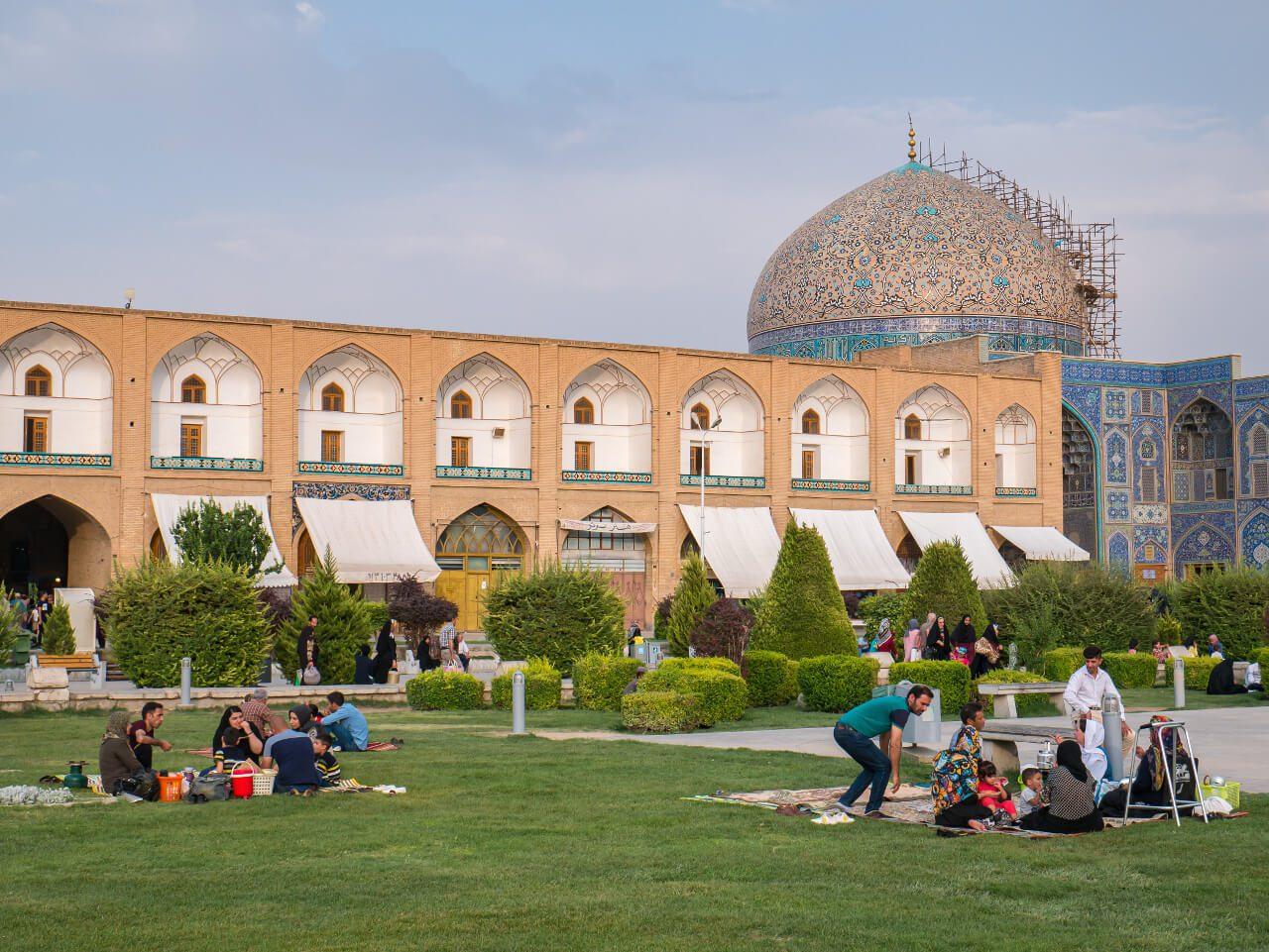 Plac Naqsh-e Jahan w Isfahan
