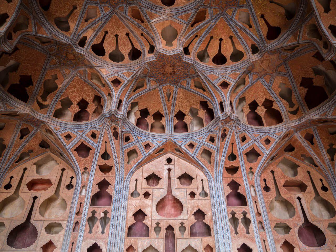 Sala Muzyczna w pałacu Aali Qapu