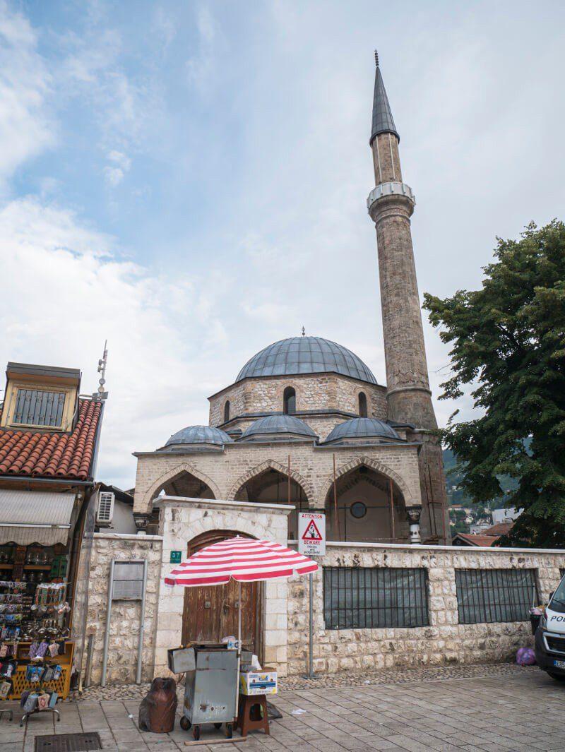 Meczet Baščaršija w Sarajewie