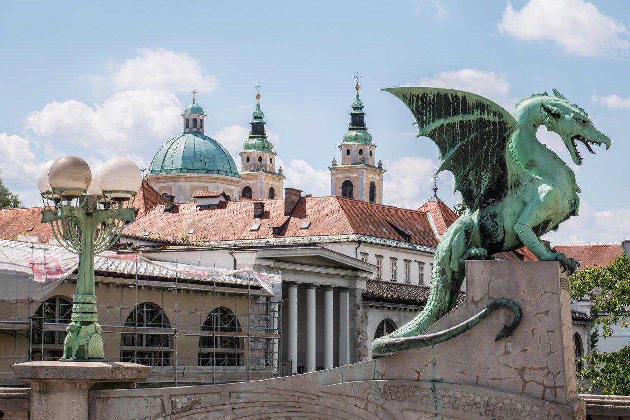 Most Smoków w Lublanie