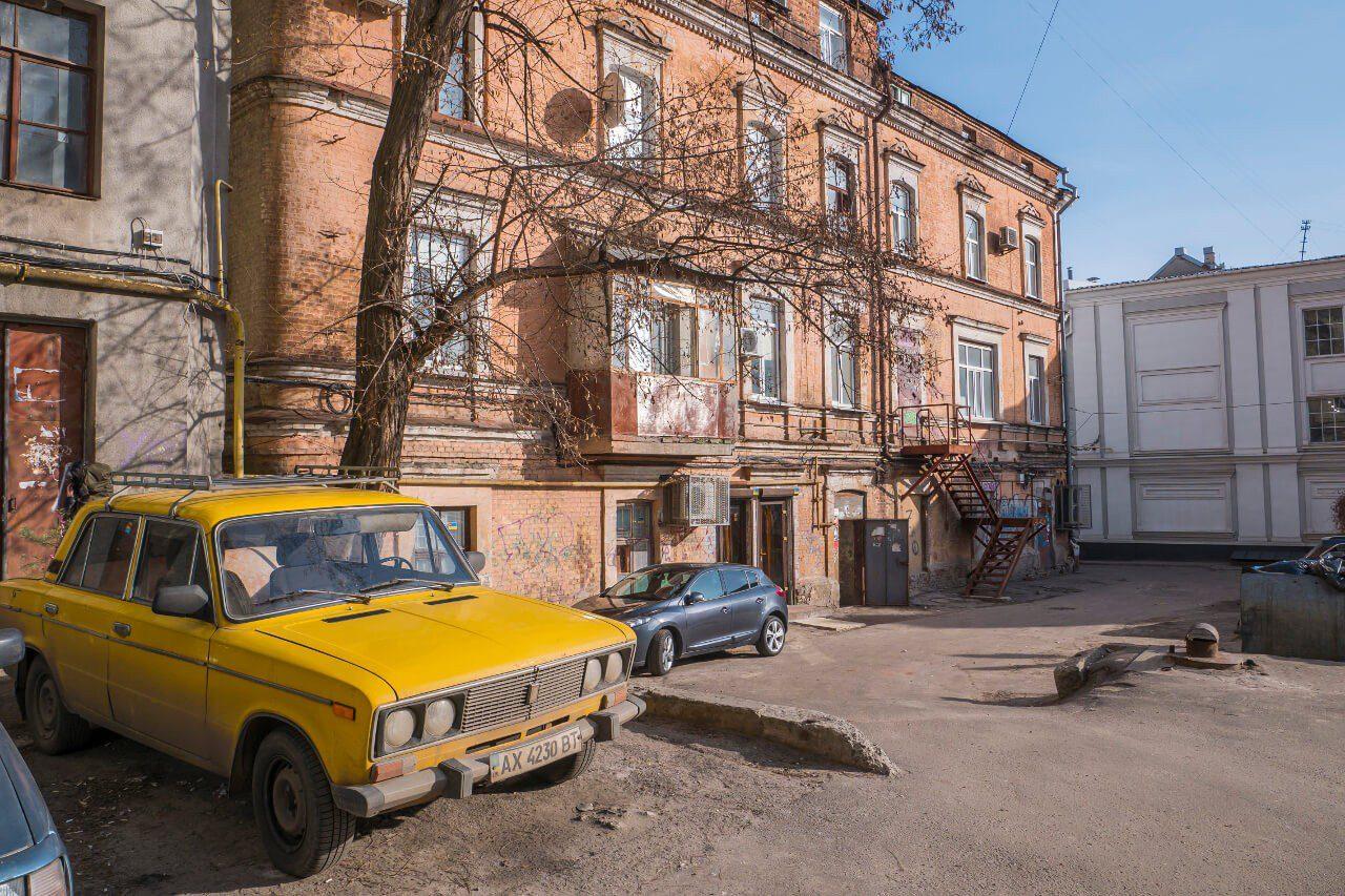 Podwórko w Charkowie