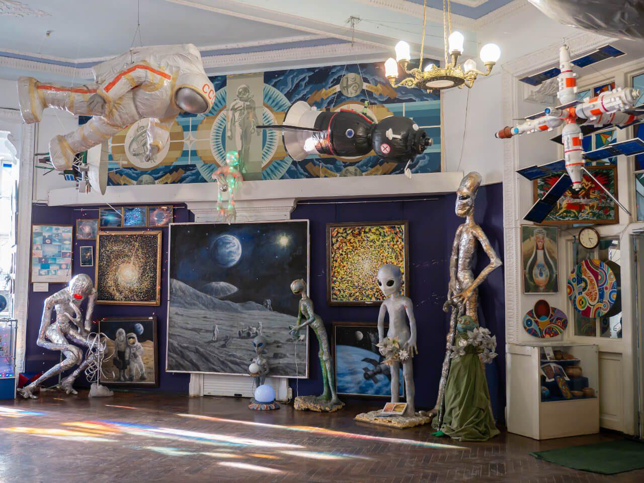Ekspozycja Planetarium Gagarina w Charkowie