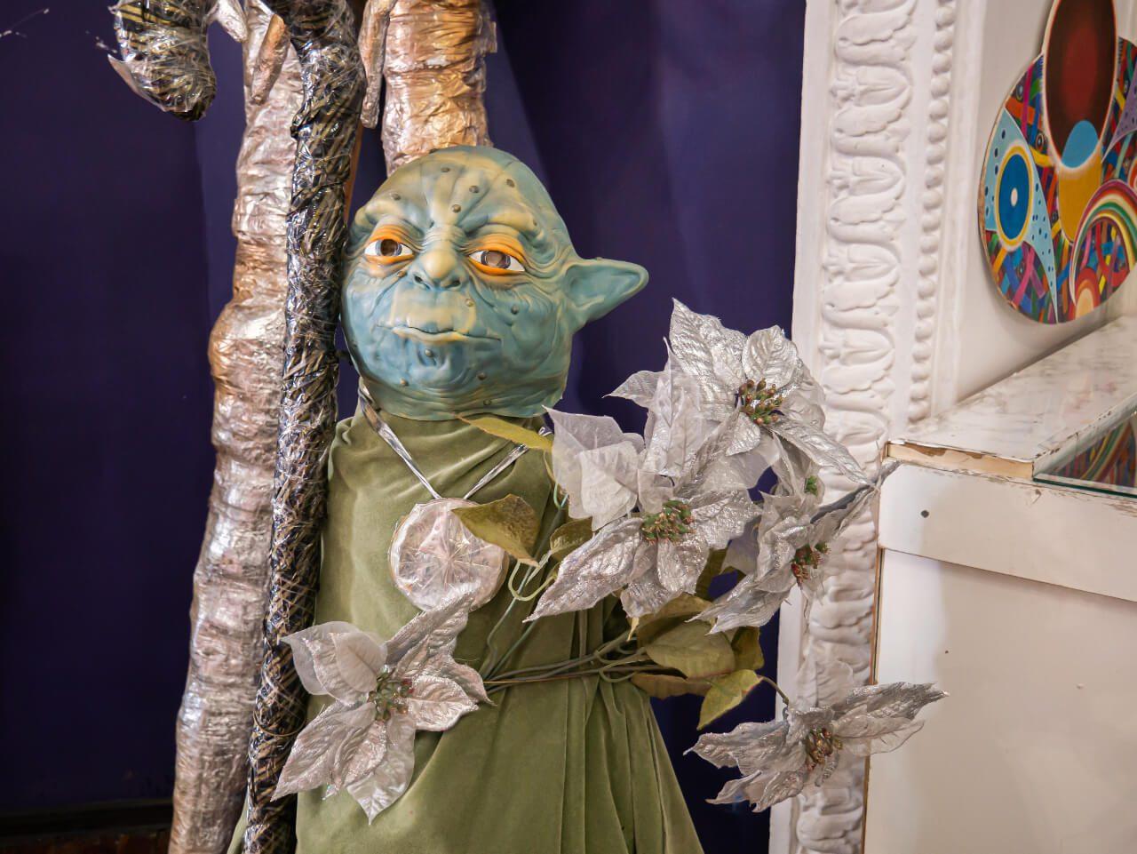 Mistrz Yoda w Planetarium Gagarina w Charkowie