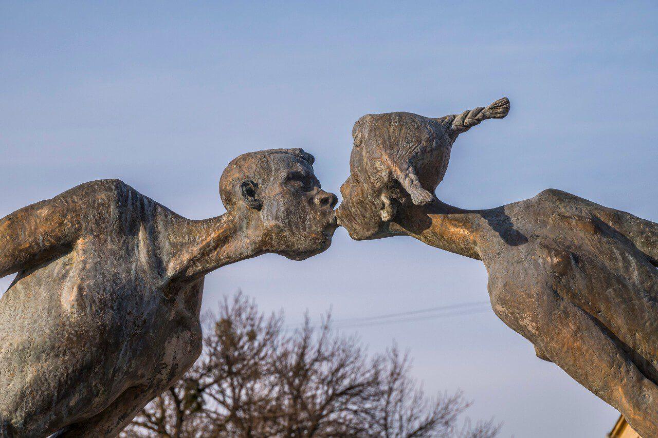 Pomnik Zakochanych na Placu Architektów