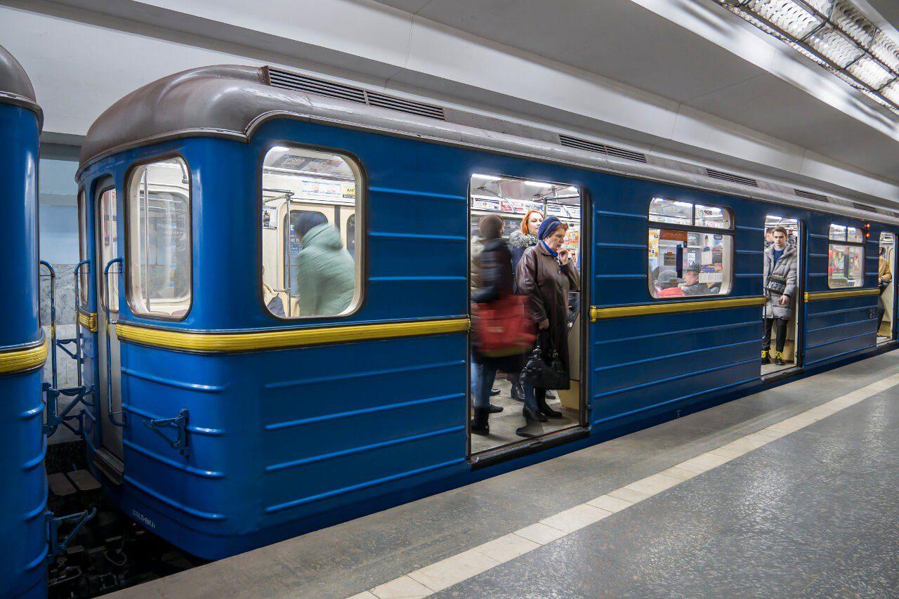 Pociąg metra w Charkowie