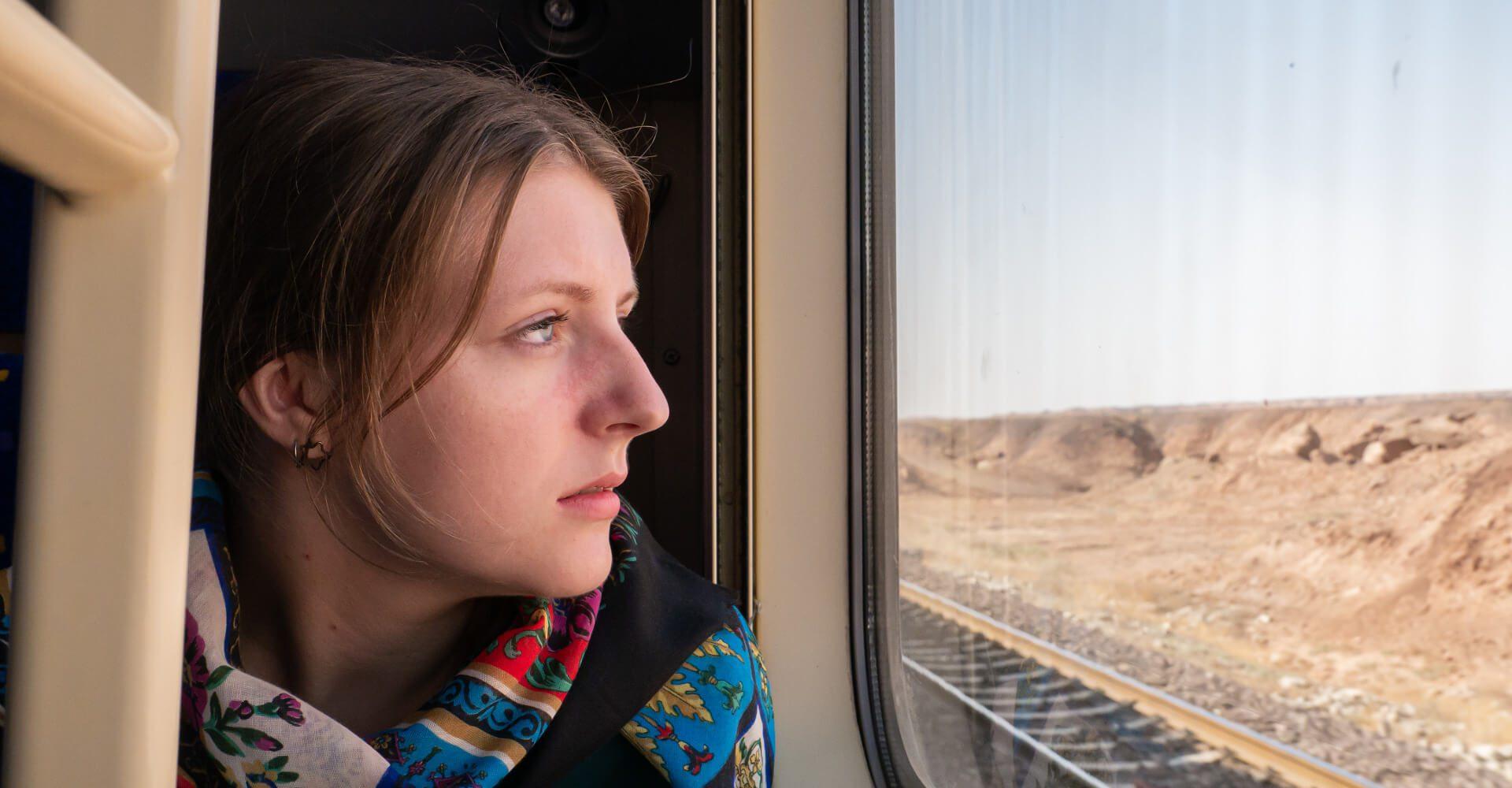 Pociągiem z Teheranu do Shiraz przez irańską pustynię