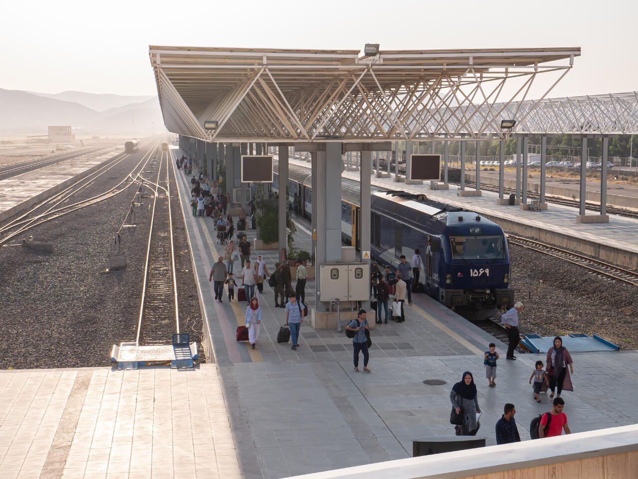 Dworzec kolejowy w Shiraz