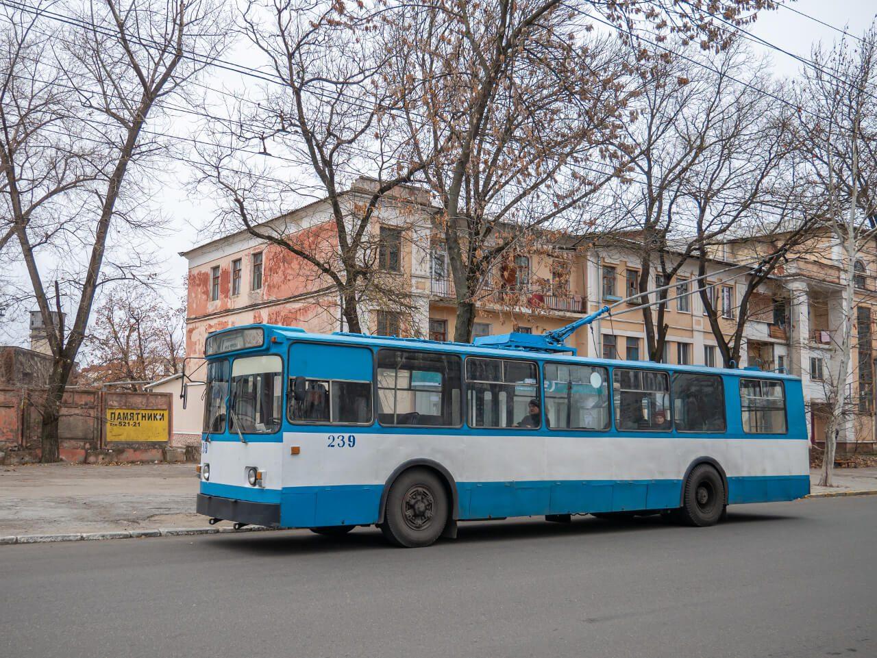 Marszrutka nr 1 obsługująca trasę na dworzec autobusowy w Tyraspolu