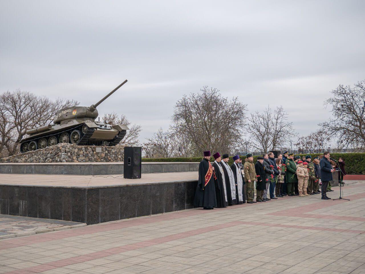 Uroczystości ku pamięci poległych w wojnie o niepodległość Naddniestrza