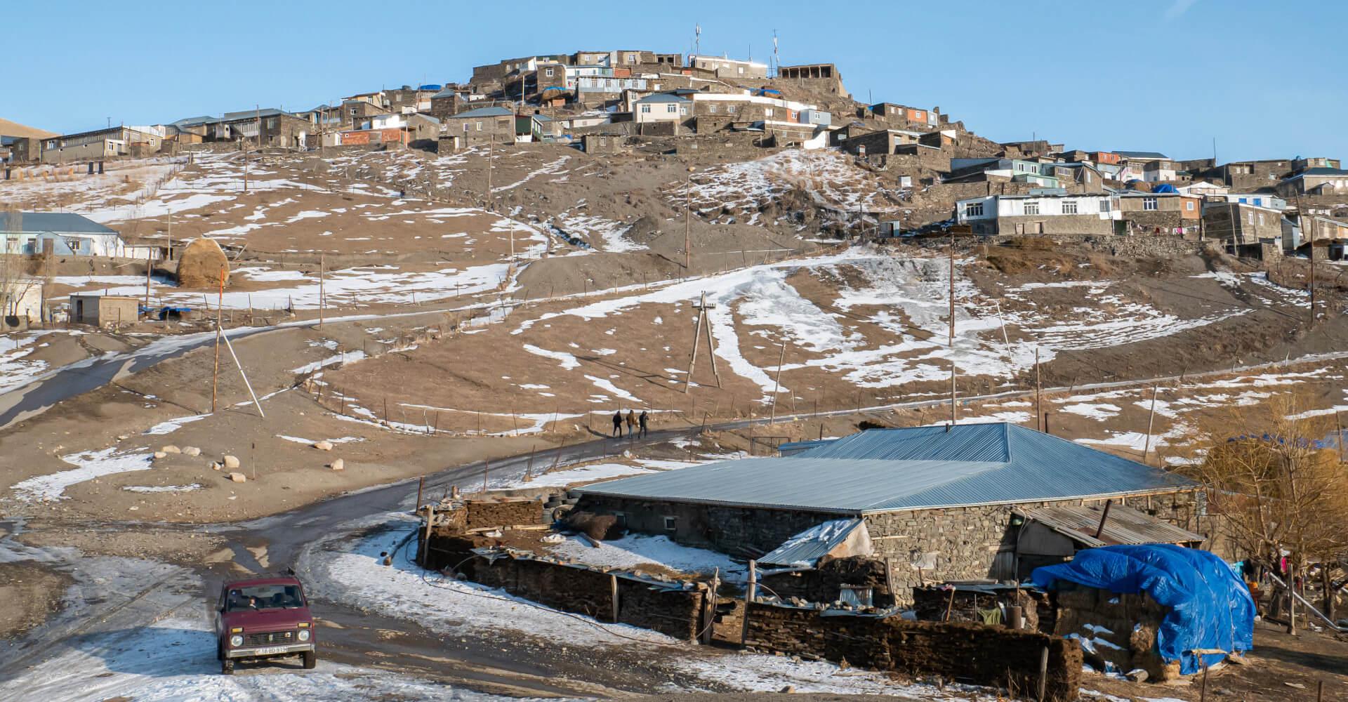 Xinaliq w Azerbejdżanie