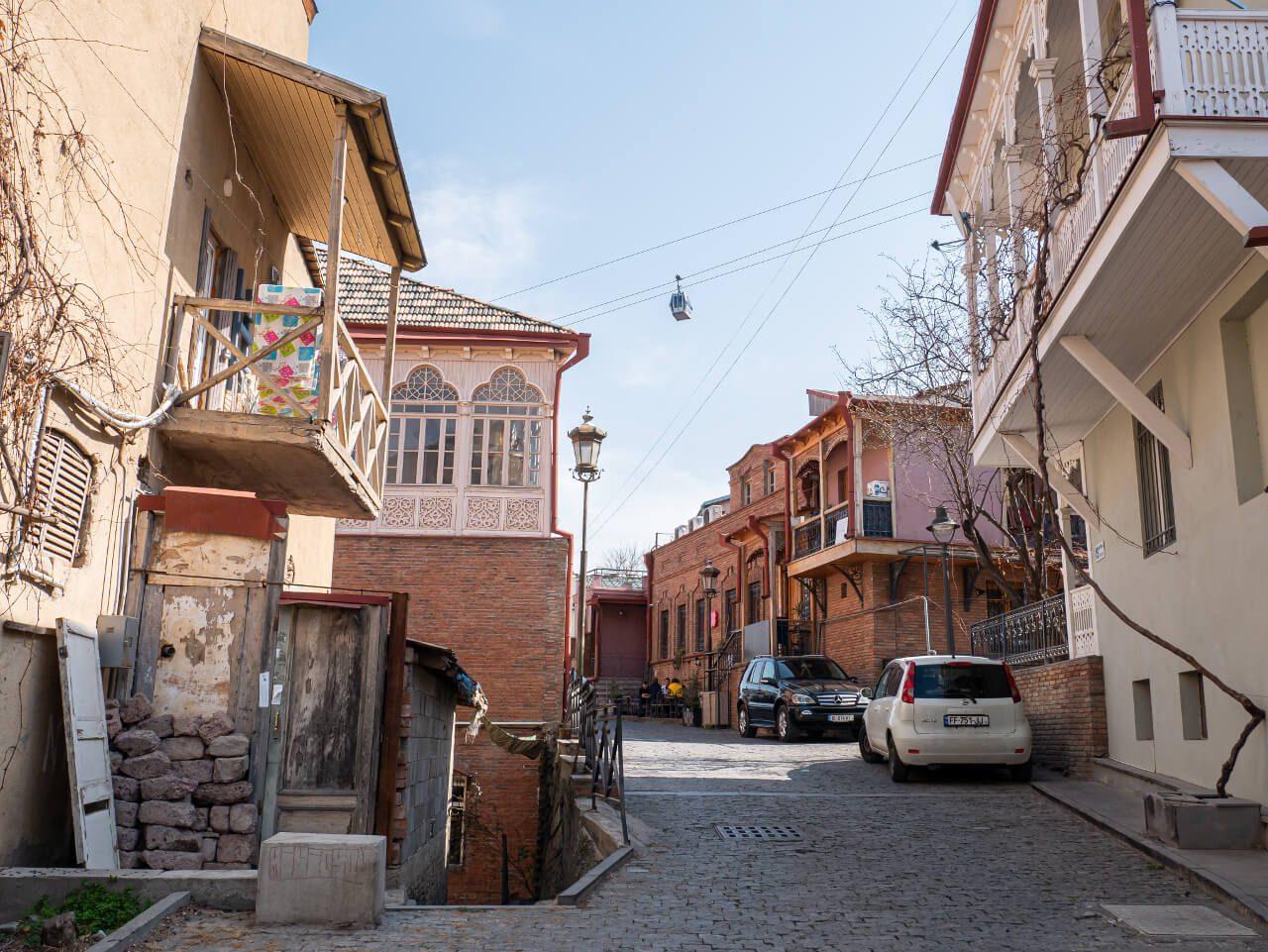 Zabudowa dzielnicy Betlemi w Tbilisi
