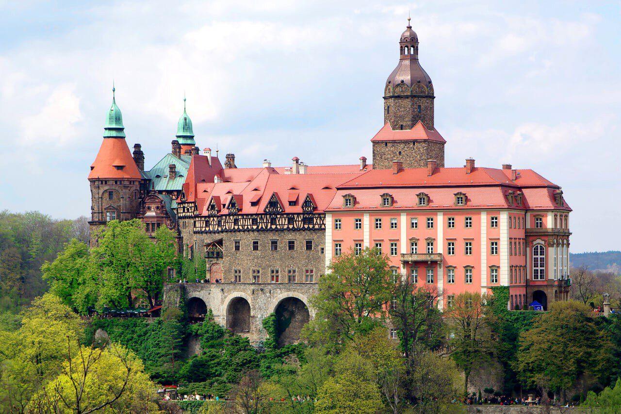 Zamek Książ - dolny śląsk co warto zobaczyć