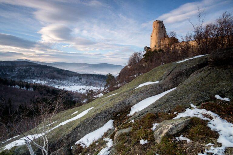 Zamek Chojnik - blog podróżniczy Bartekwpodrozy.pl