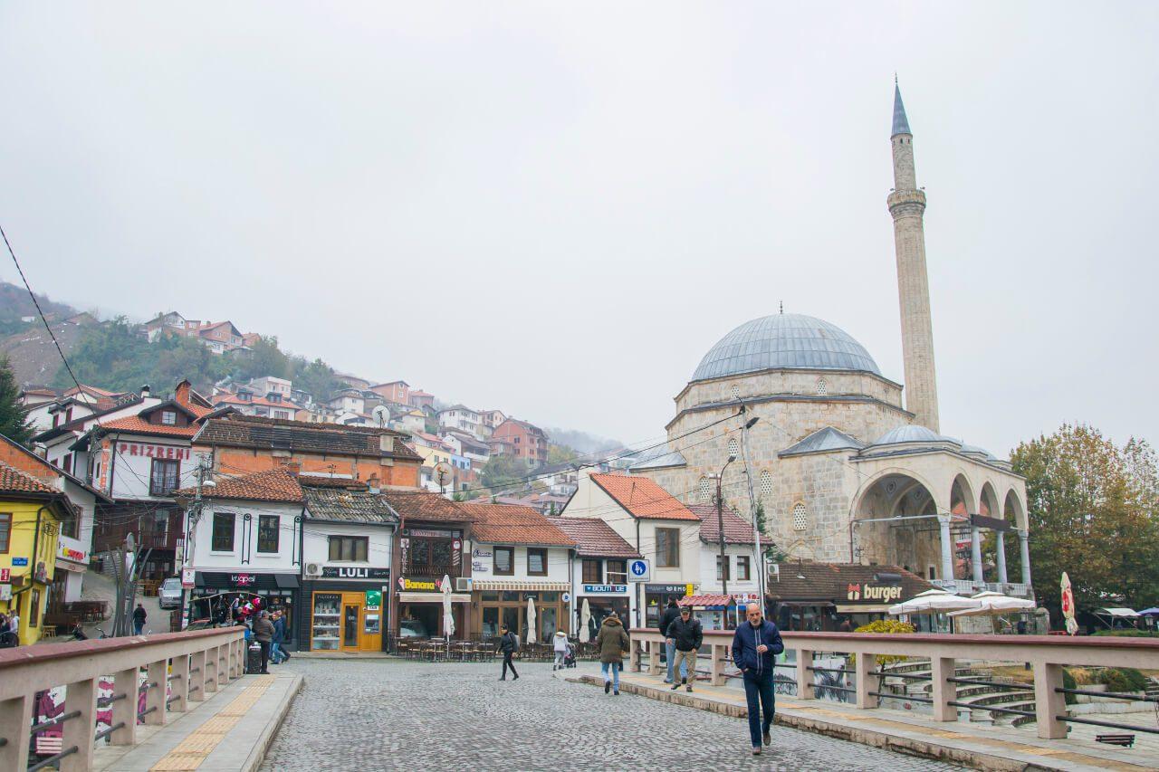 Meczet w Prizren, Kosowo
