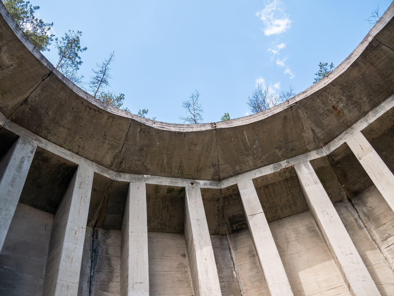 Zbiornik fabryka DAG Krzystkowice
