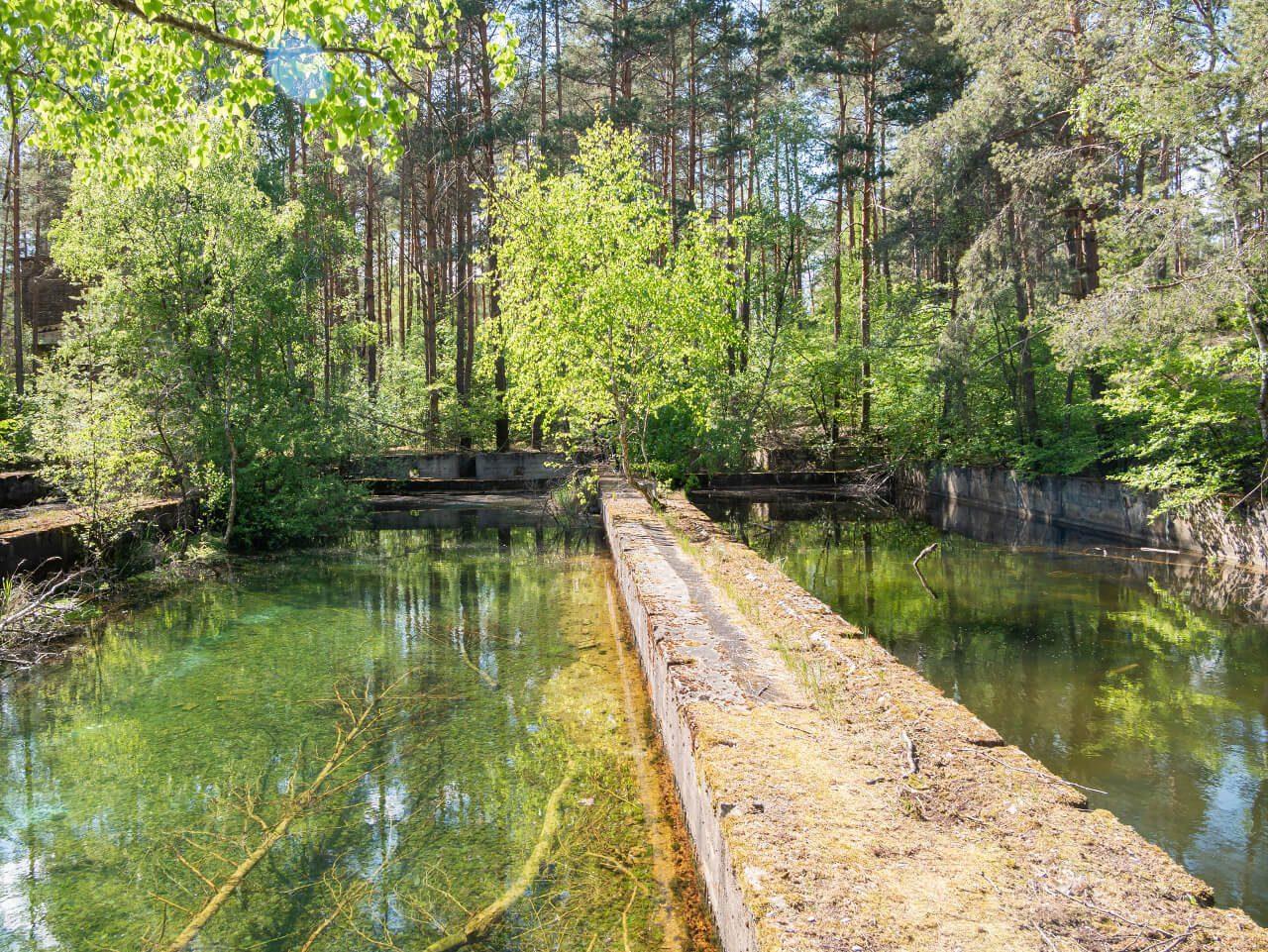 Zbiorniki oczyszczalnia ścieków DAG fabryka dynamitu