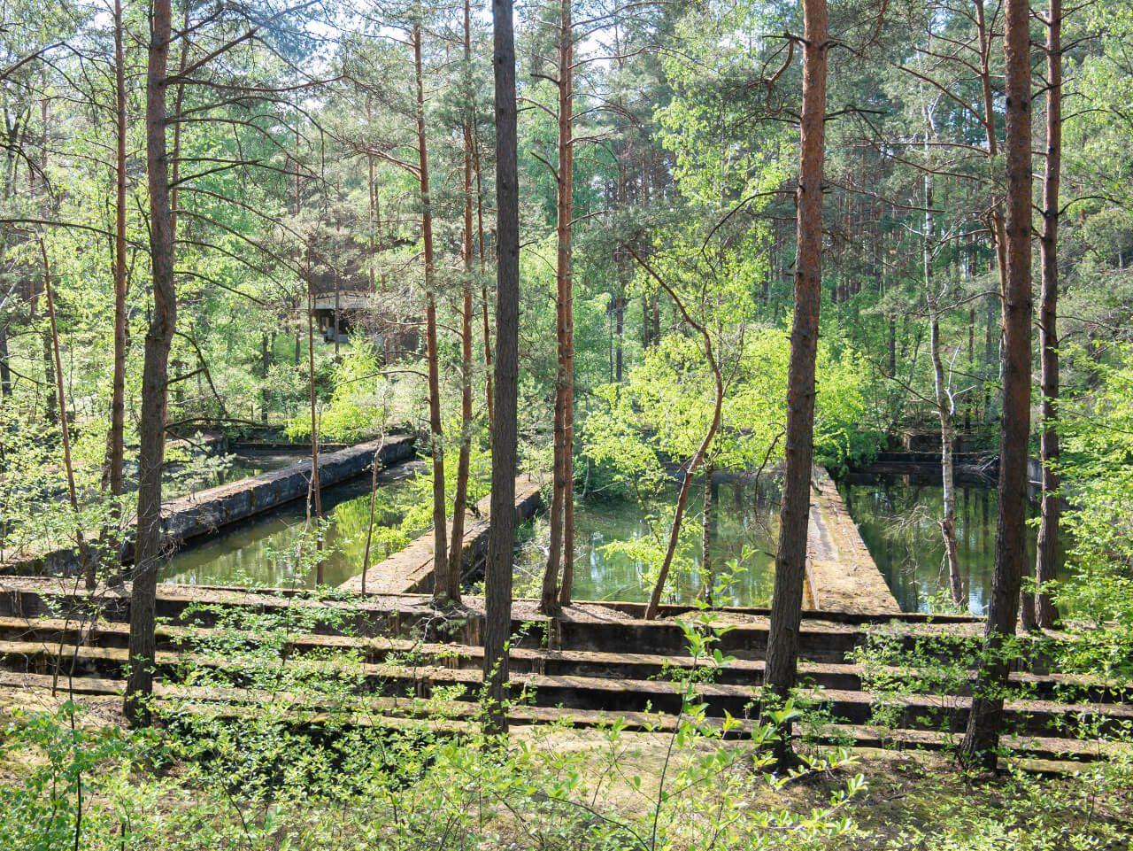 Oczyszczalnia ścieków fabryka DAG Nowogród Krzystkowice