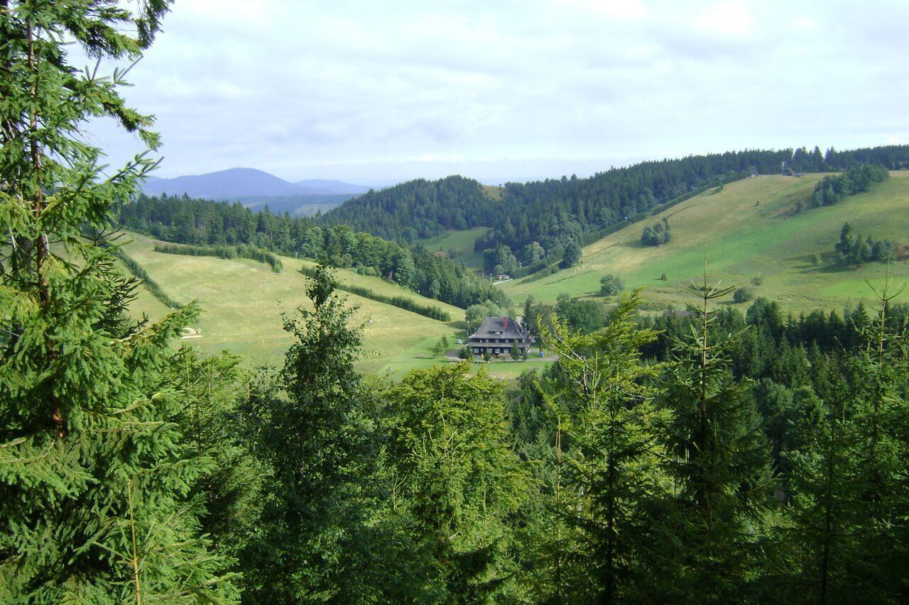 Przełęcz Trzech Dolin góry kamienne dolny śląsk