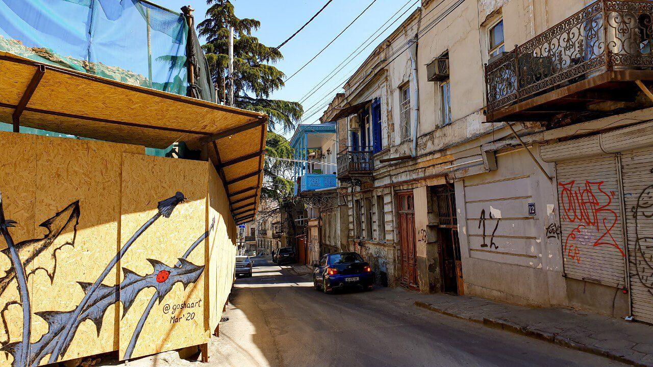 Ulice Starego Miasta w Tbilisi