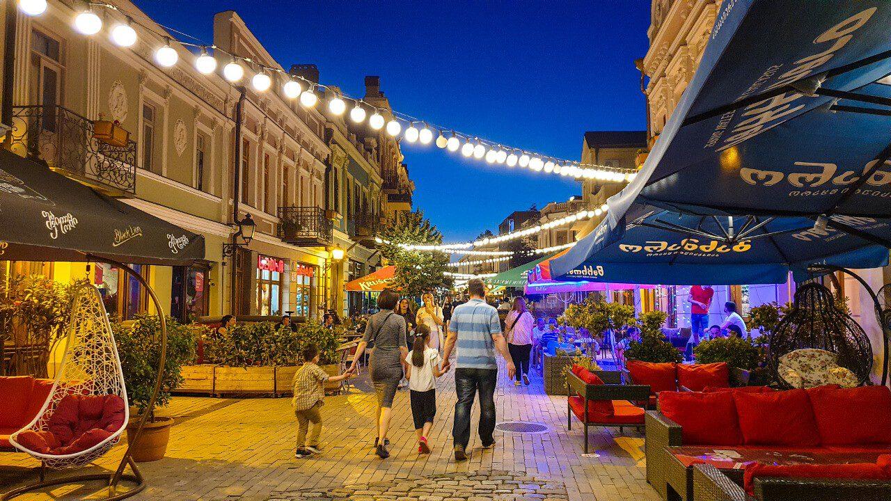 Ulica w Tbilisi, Gruzja