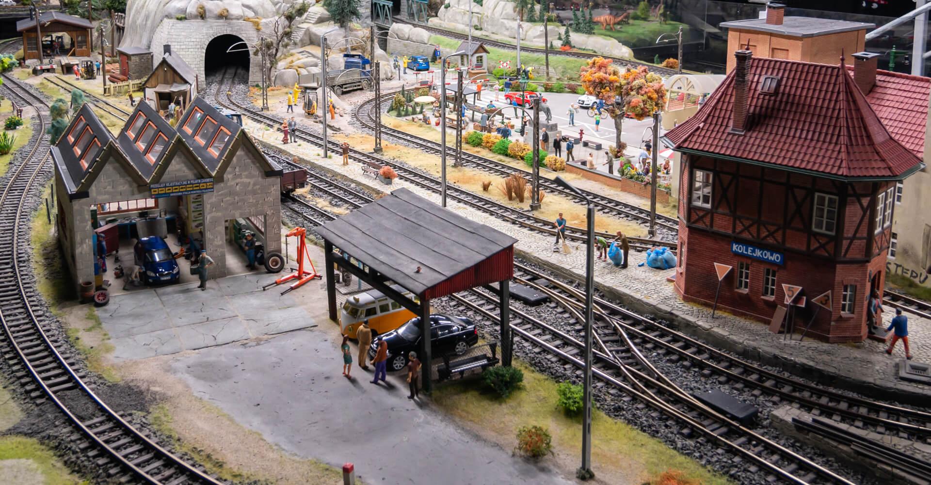 Kolejkowo we Wrocławiu - wielka makieta kolejowa w Dworcu Świebodzkim