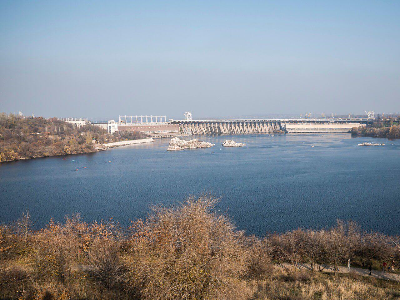 Dnieprzańska Elektrownia Wodna z Siczy Zaporoskiej