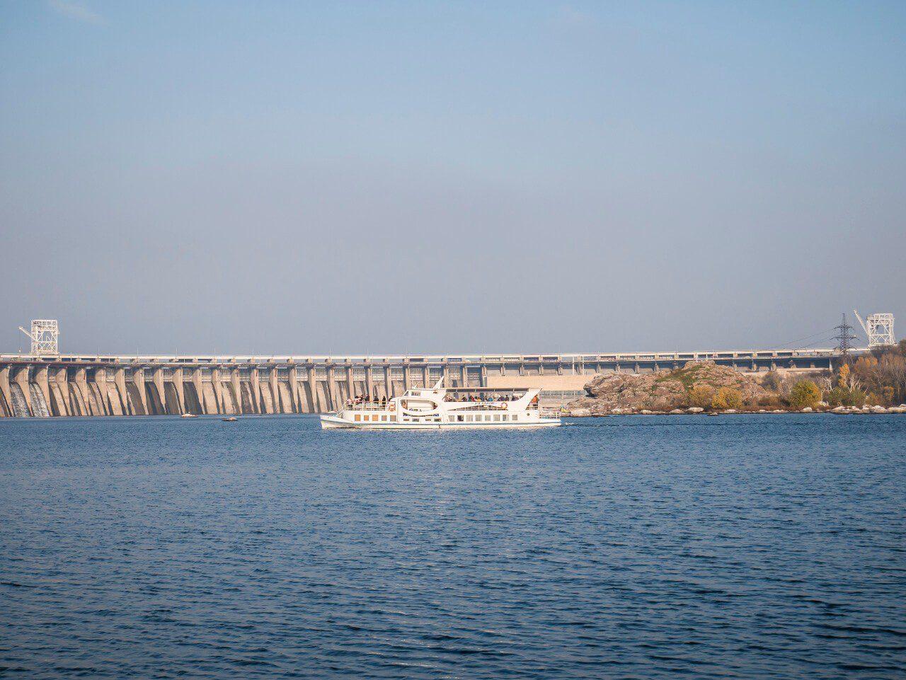 Zapora elektrowni wodnej Zaporoże