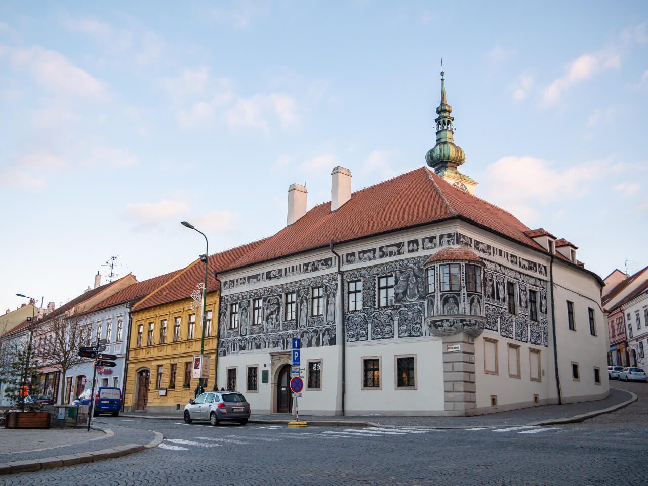 Malowany Dom w Trebic Czechy