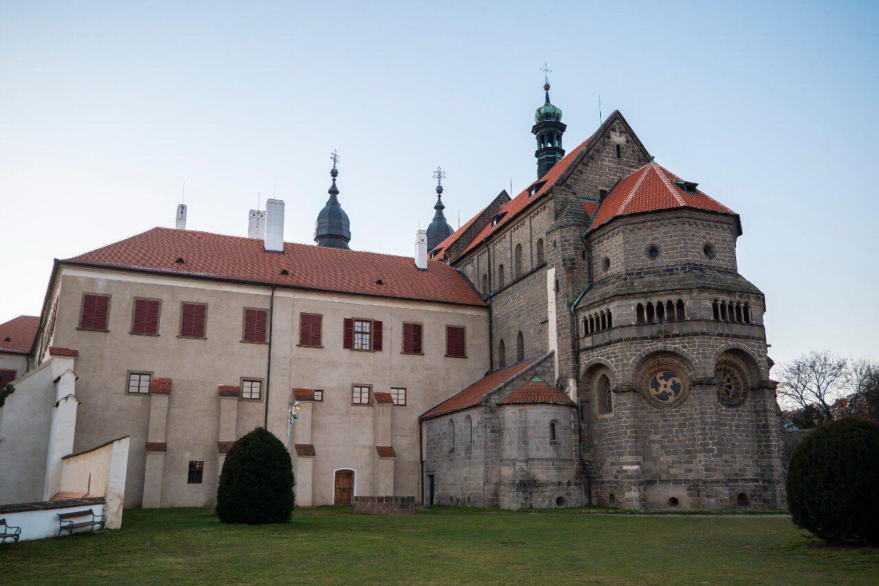 Katedra bazylika św. Prokopa lista UNESCO Trebic