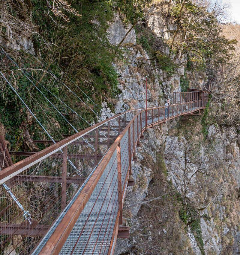 Kanion Okatse w Gruzji – uroczy zakątek w okolicach Kutaisi