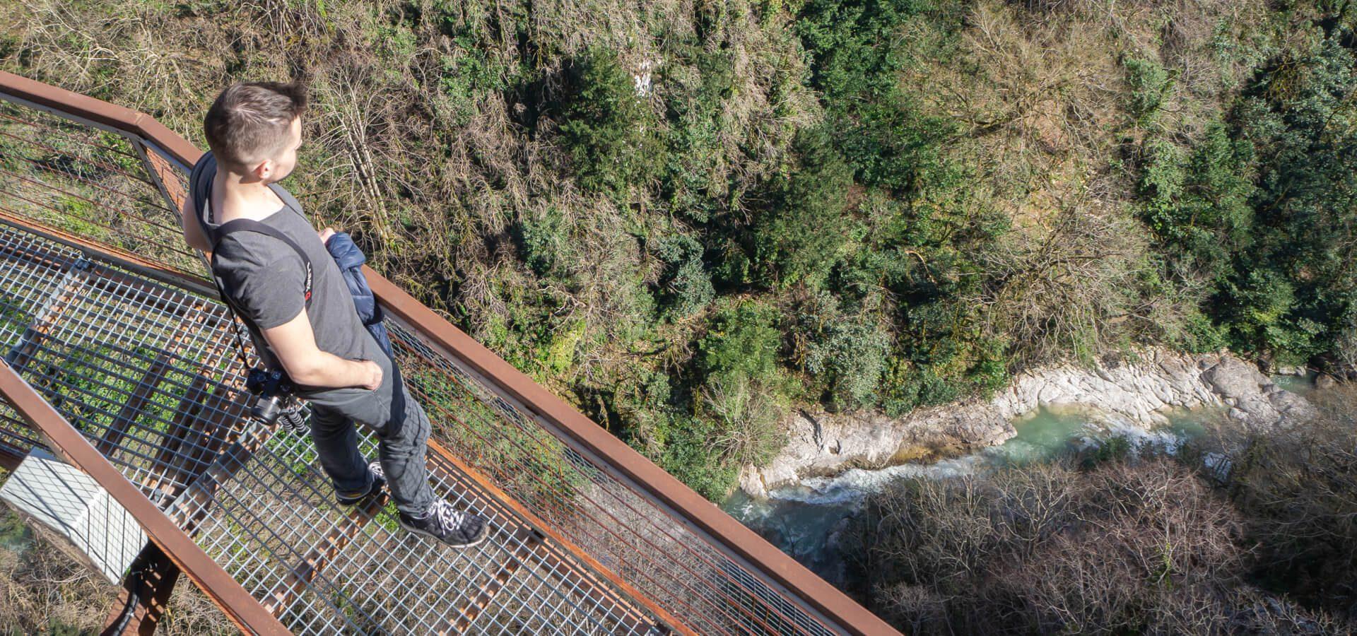 Kanion Okatse w Gruzji - uroczy zakątek w okolicach Kutaisi