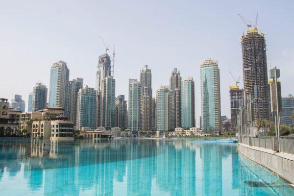 Wieżowce Dubaj Emiraty