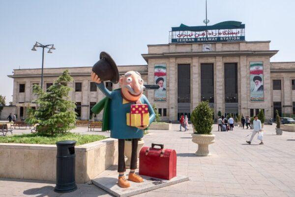 Dworzec kolejowy Teheran blog podróżniczy